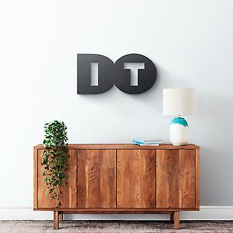 Metal Wall Art - Do It