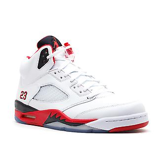 Air Jordan 5 retrô '2013 liberar' - 136027-120-sapatos