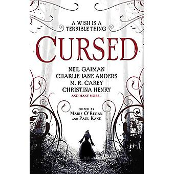 Cursed - An Anthology by Marie O'Regan - 9781789091502 Book