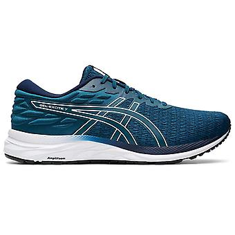 Asics Gel-Excite 7 Twist Mens Adults Running Fitness Trainer Shoe Blue