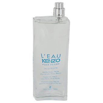 L'eau Kenzo Eau De Toilette Spray (Tester) By Kenzo 3.3 oz Eau De Toilette Spray
