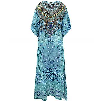 Inoa Atlantis Long Silk Kaftan