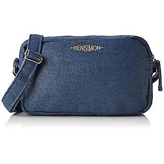 Bensimon kytkin laukku-sininen nainen (Marine) 6x15x25cm (W x H L)