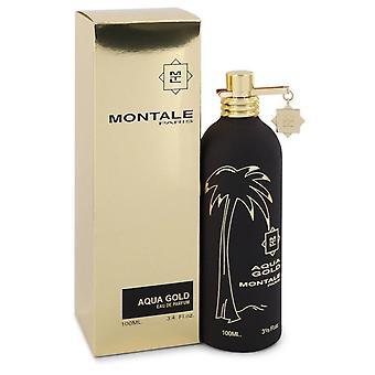Montale Aqua Gold Eau De Parfum Spray von Montale 3.4 oz Eau De Parfum Spray