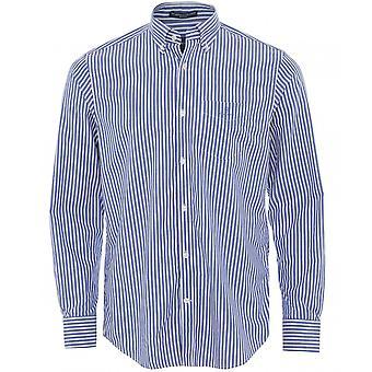 GANT Regular Fit Bredklud stribet skjorte