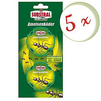 Sparset: 5 x SUBSTRAL® Celaflor® ant baits, 2 doses