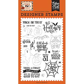 Echo Park All Hallows Eve Clear Stamps