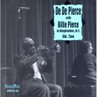 2 - 米国ニューヨーク州ビンガムトン ジョソン [CD] インポートでビリー ピアス ・ デデ - ビリー ピアス ・ デデ: vol.