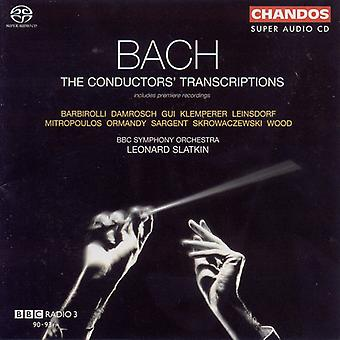 J.S. Bach - Bach: The dirigenten transcripties [SACD] USA import