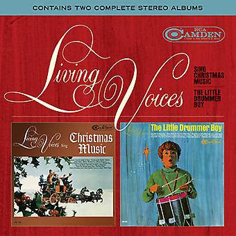 Living Voices - Sing Christmas Music / the Little Drummer Boy [CD] USA import