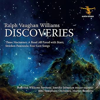 Williams / BBC Symphony Orchestra / Brabbins - Discoveries [CD] USA import