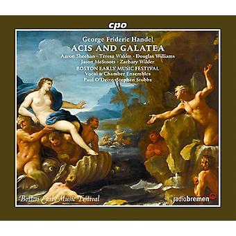 Handel / Wakim / Boston Early Music Festival Vocal - Acis & Galatea [CD] USA import