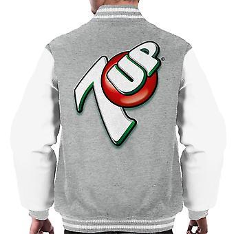 7up 00s Angled Logo Men's Varsity Jacket