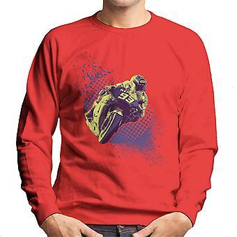 Motorsport Bilder Marc Marquez und Valentino Rossi Herren's Sweatshirt