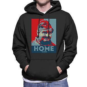 TV Times Benny Hill Home Guard Men's Hooded Sweatshirt