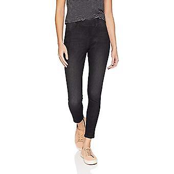 Essentials Women's Skinny Stretch Pull-On Knit Jegging, Grey Wash, X-L...