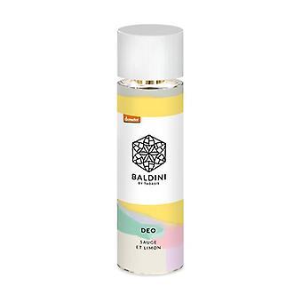 Lemon tea tree deodorant 70 ml (Citrus)