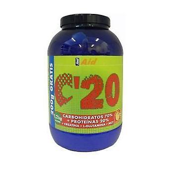 C-20 Carbo Aid 15 (Vanilla Flavor) 1 kg of powder (Vanilla)