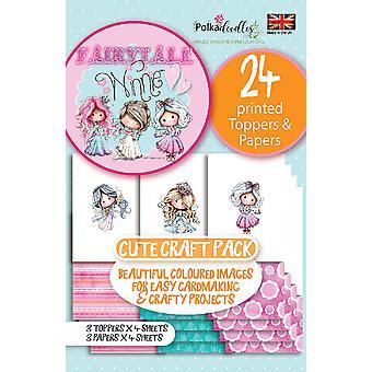 Polkadoodles Winnie Fairytale 1 Topper Pack