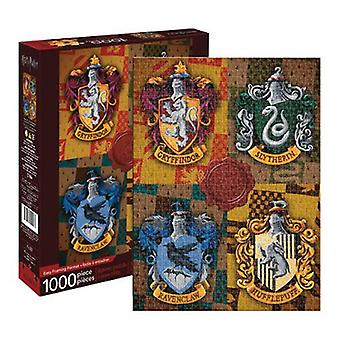 Harry potter - crests 1000pc puzzle