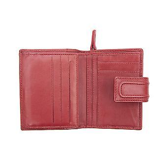 Primehide liten läder väska RFID blockerande Kvinnors Plånbok Korthållare 6002