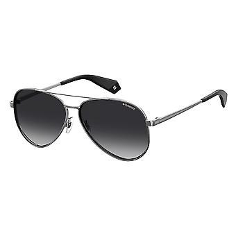 Polaroid PLD6069/S/X 6LB/WJ Ruthenium/Polarised Grey Gradient Sunglasses