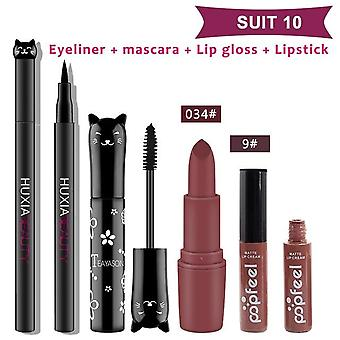 Lipstick Eyelinermascara Eye-shadow Makeup For Women Cosmetics