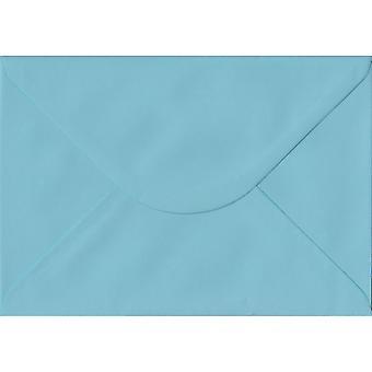 Blu pastello gommata C5/A5 buste blu colorati. 100gsm carta sostenibile FSC. 162 x 229 mm. busta di stile del banchiere.
