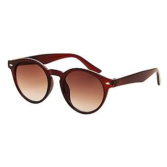 Sunglasses Unisex brown with brown lens (AZ-10)