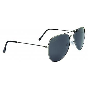 Sunglasses Unisex Pilot Cat.3 black (022-0001)