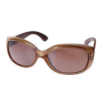 Sunglasses Women's Brown with Brown Glasses (A60430)