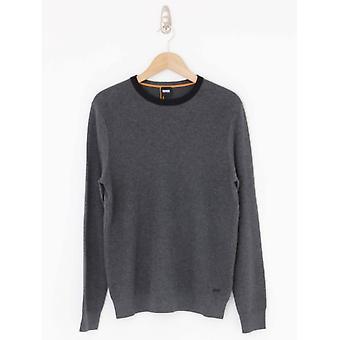 BOSS Casual Ayakop Knit - Medium Grey