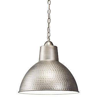 1 Licht Koepelplafond hanger Lichte Pewter, E27