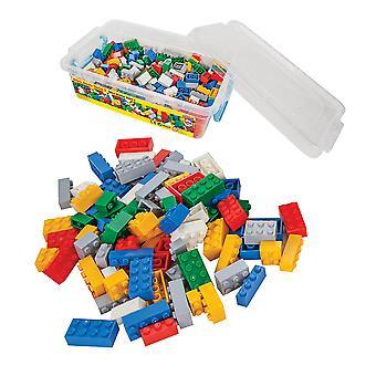 Pilsan lohkot asettaa 03492 värikäs rakennuspalikoita 504 kappaletta 3 vuotta muovirasiassa