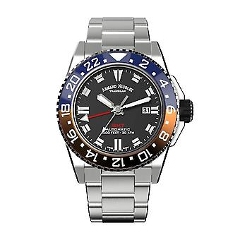 Armand Nicolet JS9-44 GMT Watch for Men's (A486BGN-NR-MA4480AA)