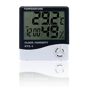 Wireless Digital Hygrometer For Indoor Outdoor Thermometer - Humidity Monitor With Temperature Gauge