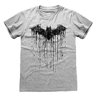 Batman Unisex Adulto Goteja t-shirt