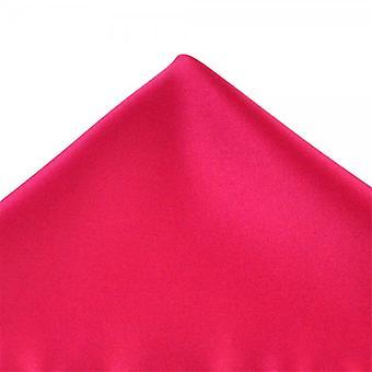 Ties Planet Plain Cerise Pink Pocket Square Zakdoek