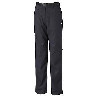 Craghoppers Ladies Kiwi Convert Trousers Dark Navy 10 Regular Leg