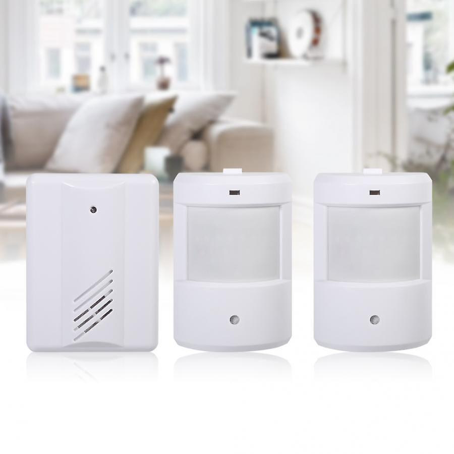 Pir Motion Sensor Detector Wireless Door Bell For Alert ...