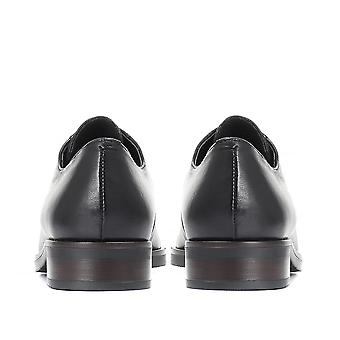 Jones Bootmaker Womens Sapato de Derby de Couro