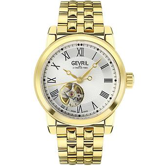 Gevril Mens 2585 Madison Automatic Open Heart Window Limited Edition Zwitsers horloge