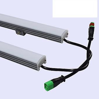 Led Line Lamp 5050 Smd Outdoor Waterproof Hard Light Strip Color Guardrail Tube Dmx512 Rgb Dc24v Wall Washer