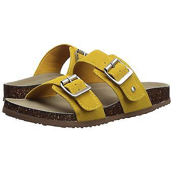 Madden tyttö naisten Brando kangas avoin rento dian sandaalit