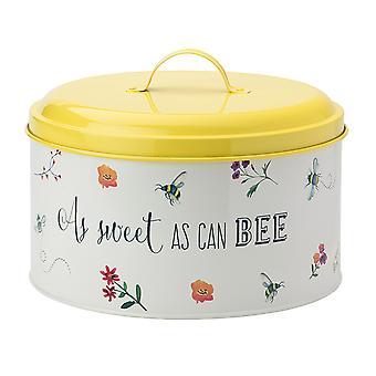 English Tableware Company Cake Tin Bee Happy DD09BTA01