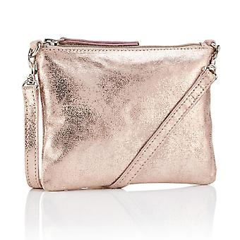 Hill & How Crossbody Pouch Bag | Rose Gold