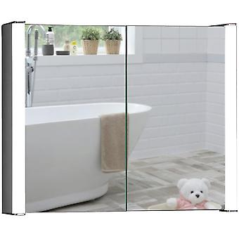 LED Bathroom Mirror Cabinet 65(H) x 80cm(W) x 16cm(D) C13