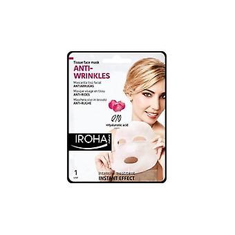 Iroha Q10 & Hyaluronic Acid Anti-wrinkle Sheet Face Mask