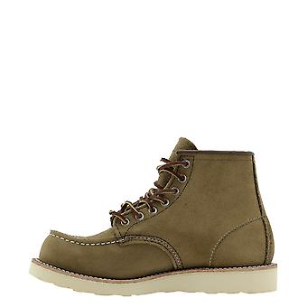 Red Wing 08881 Men's Brown Suede Ankle Boots