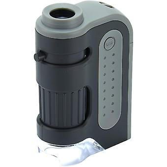 Carson microbrite plus 60x-120x power led lighted pocket microscope single pack